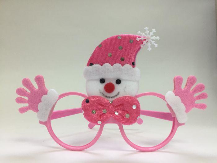 Очки новогодние Magic Time Розовый Снеговик. 78593 очки новогодние magic time варежки 76192