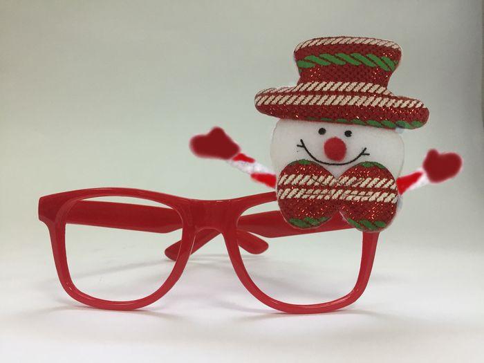 Очки новогодние Magic Time Снеговик в красной шляпе. 78594 очки новогодние magic time варежки 76192