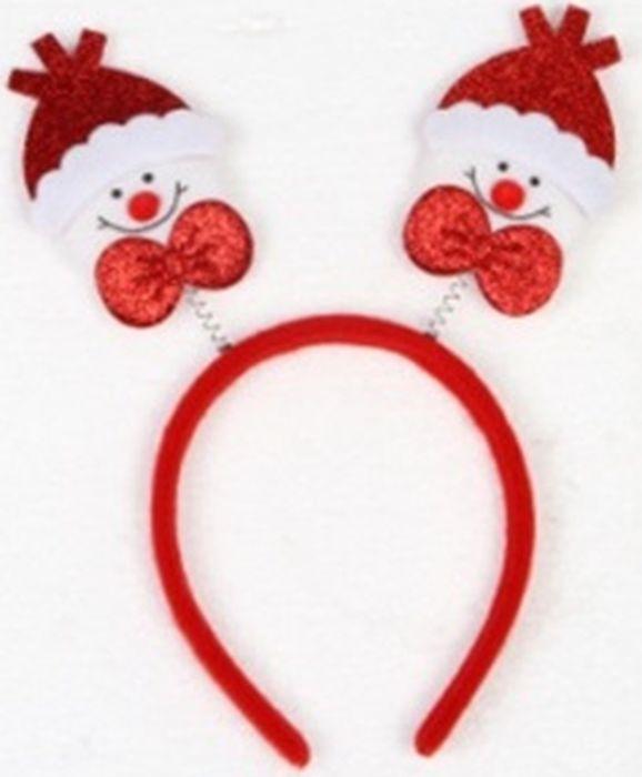 Новогоднее украшение на голову Magic Time Красные Снеговики. 78597 украшения на голову