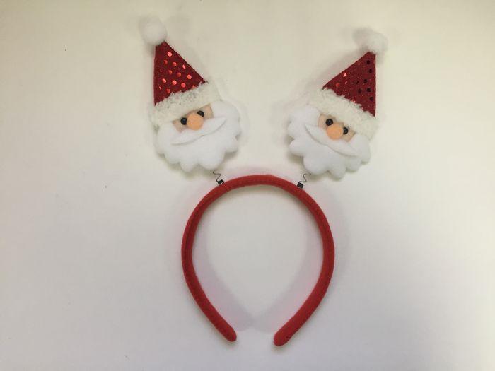 Новогоднее украшение на голову Magic Time Красный Дед Мороз. 78601 украшения на голову
