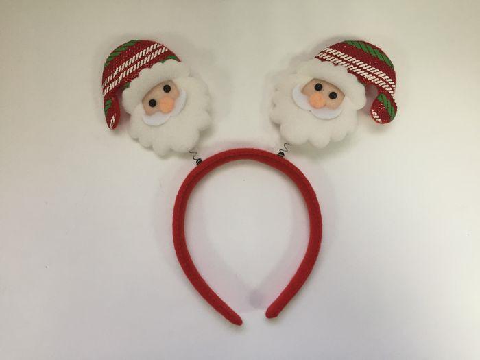 Фото - Новогоднее украшение на голову Magic Time Дед Мороз в шапке. 78604 новогоднее украшение на голову magic time дед мороз в полосатом колпаке 78606