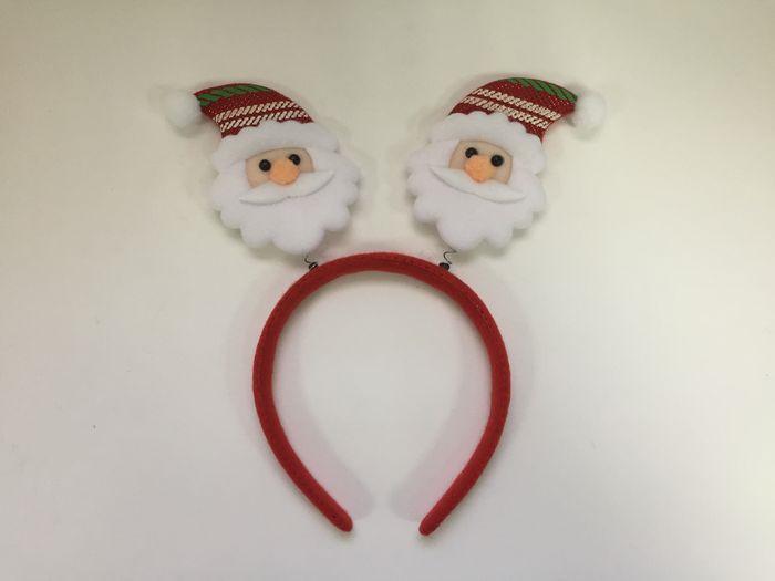 Новогоднее украшение на голову Magic Time Дед Мороз в полосатом колпаке. 78606 украшения на голову
