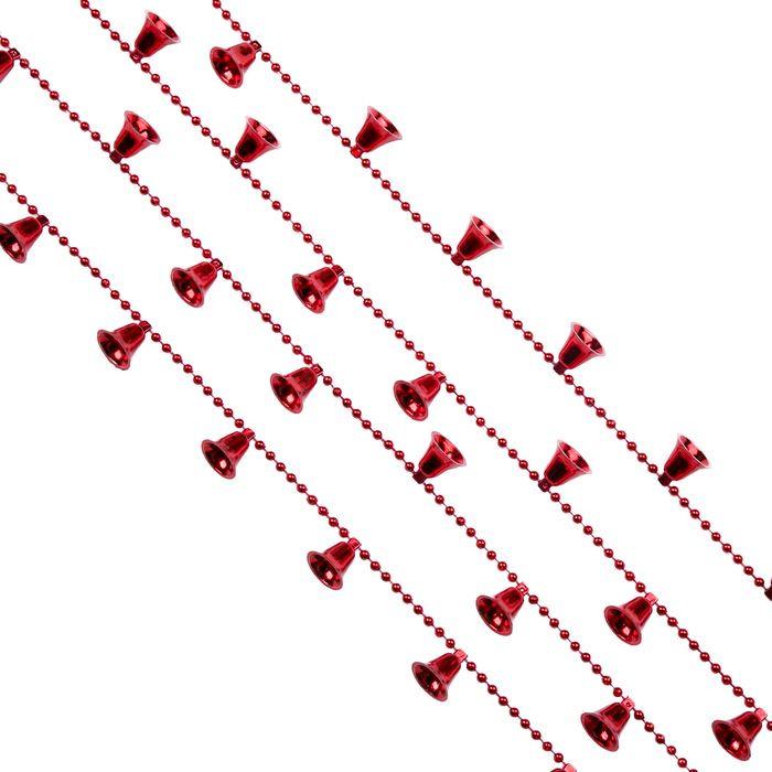 """Гирлянда новогодняя Magic Time """"Красные колокольчики"""", 270 х 1,8 см. 78858"""