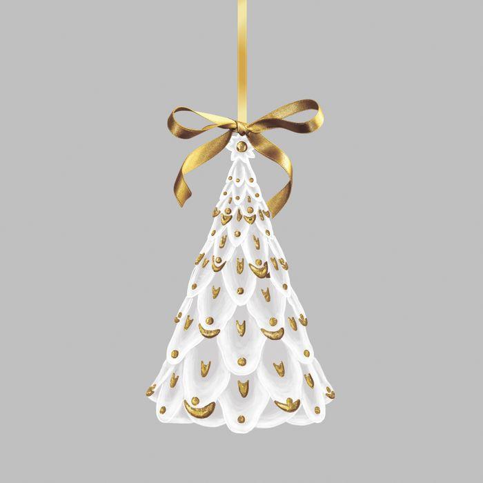 Новогоднее подвесное украшение Magic Time Елка, 8 х 4 х 8 см украшение новогоднее подвесное magic time часы в чашке 6 8 х 6 8 х 7 см