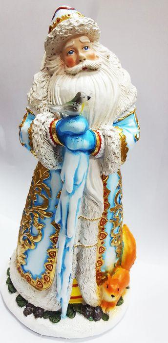 "Фигурка новогодняя Magic Time ""Дед Мороз с птичками"". 79108"