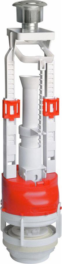 Клапан для бачка ИнкоЭр, спускной, универсальный, 1 режим слива. ИС.131045 арматура для бачка инкоэр кнопочная 2 режима ис 131038