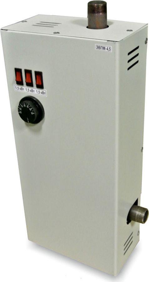 Котел электрический Уралпром, ЭВПМ- 4,5 кВт (220В) котел на твердом топливе кчм 5 6 секций 50 квт