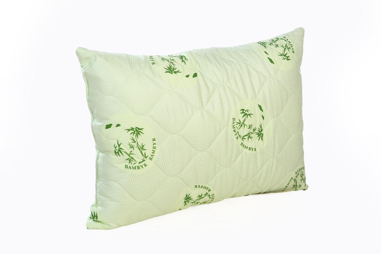 цена Подушка Спаленка Подушка Бамбук, П-Бамбук-57/салатовый, зеленый онлайн в 2017 году