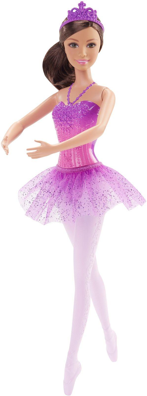 Barbie Кукла Балерина цвет юбки фиолетовый