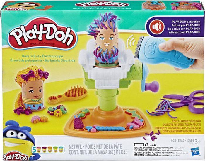 """Набор для лепки Play-Doh""""Сумасшедший парикмахер"""", 12 предметов"""