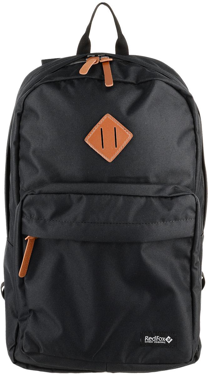Рюкзак детский городской Red Fox Bookbag L1, цвет: черный, 30 л рюкзак туристический red fox light 80 v4 цвет авокадо 80 л