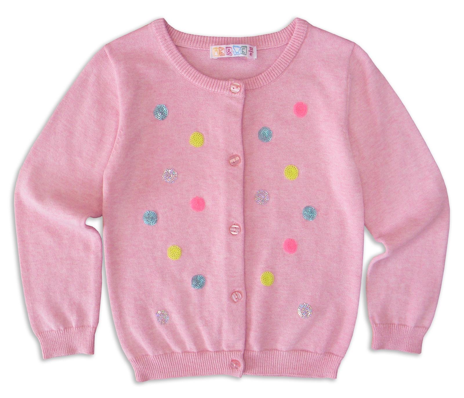 Кофта Me&We кофта для девочки котмаркот весенее вдохновение цвет розовый 7197 размер 62