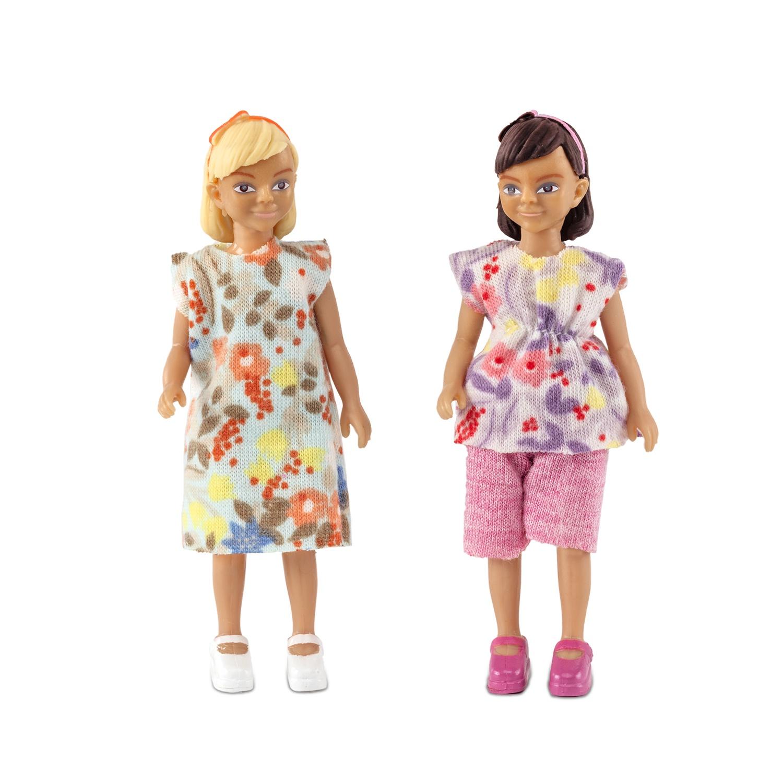 "Набор кукол для домика Lundby ""Две девочки"""