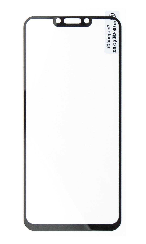 Защитное стекло Onext для телефона Huawei Nova 3 с рамкой черное защитное стекло onext для huawei p10 lite 641 41432 с рамкой белый