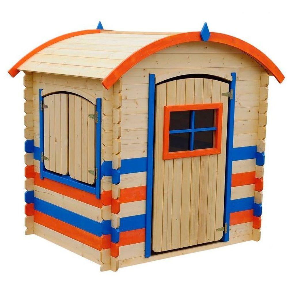 Игровой домик для детей Оливер, в цвете украшение домик с белой крышей 2х5х4см мульти