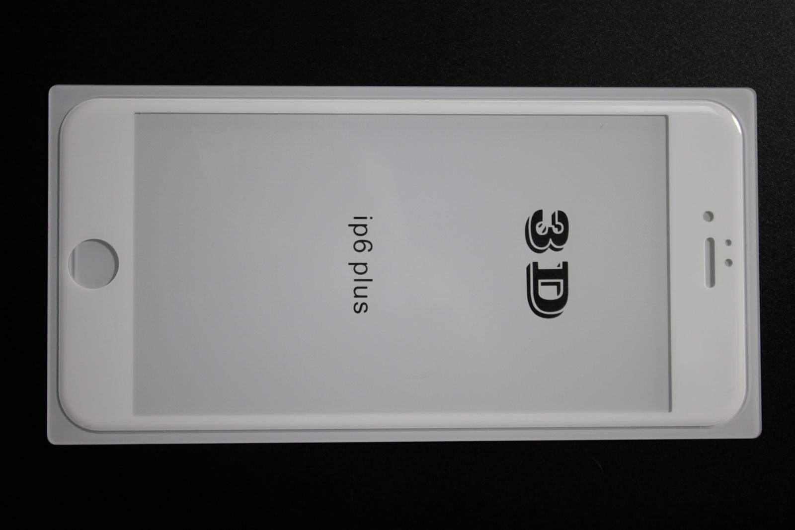 Защитное стекло Onext для телефона Apple iPhone 6/6S 3D белое
