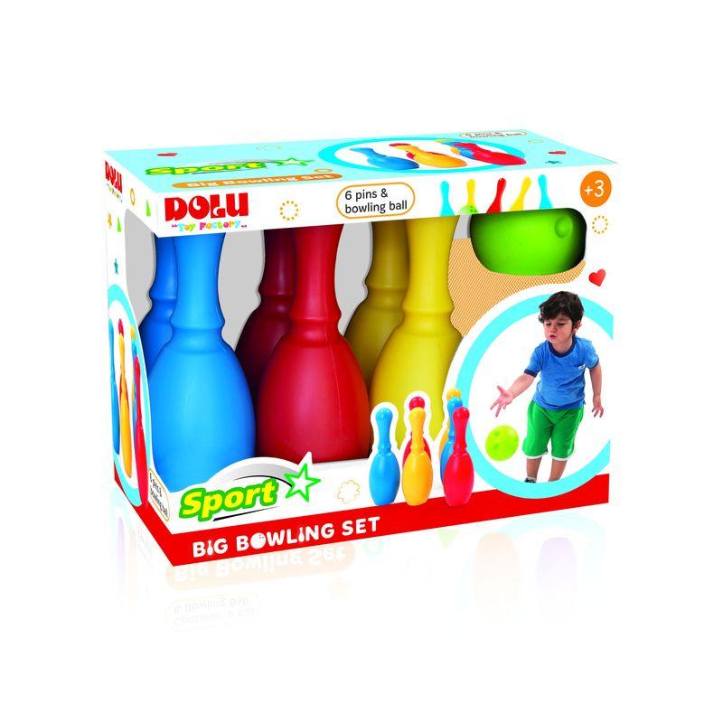 Большой набор боулинг из 6 кеглей и 1 шаром игра набор для боулинга 6 кеглей и 1 шар в коробке 15 01842 8816d7