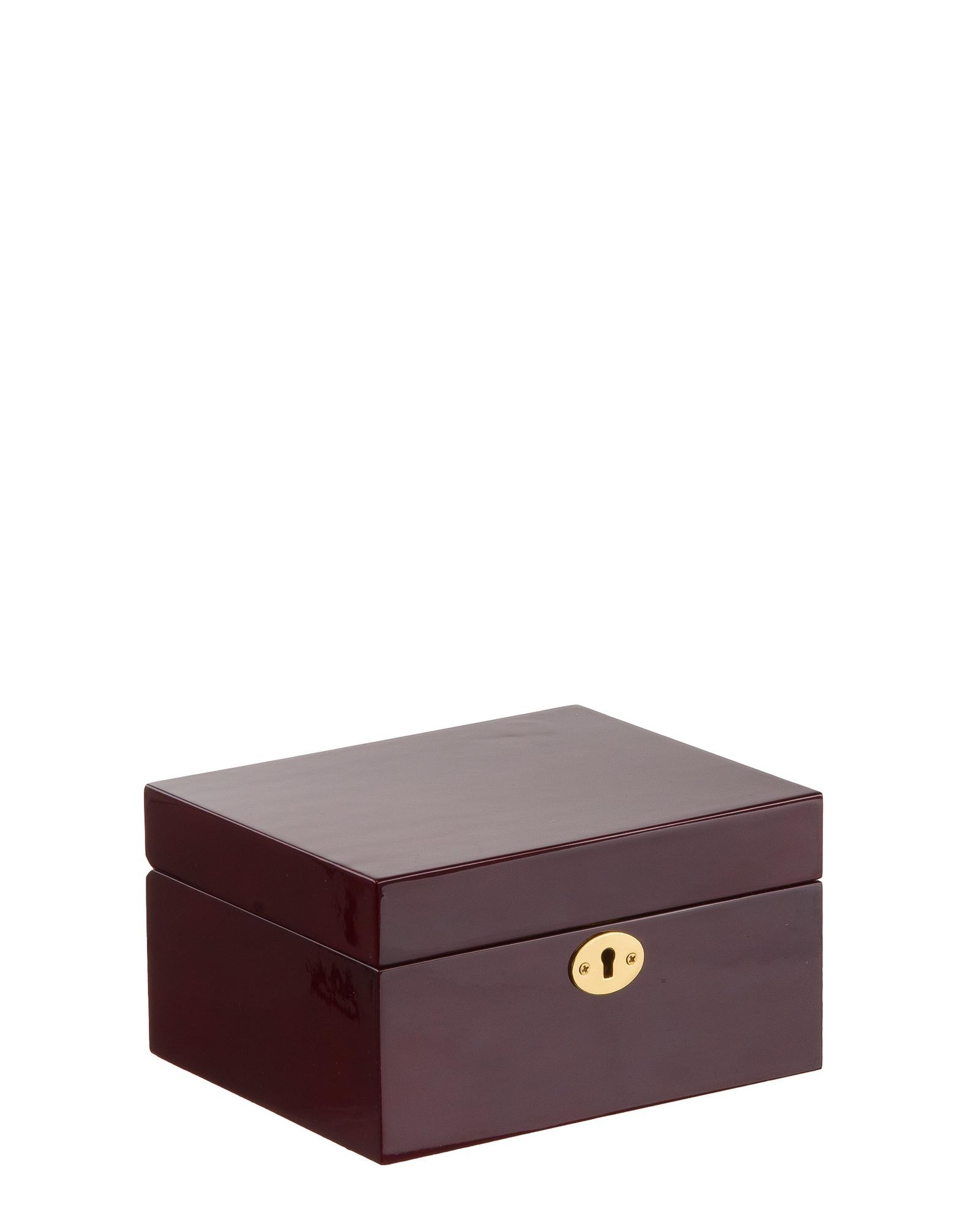 Шкатулка для украшений IsmatDecor, KPW-9107, коричневый подарок главному бухгалтеру на день рождения женщине
