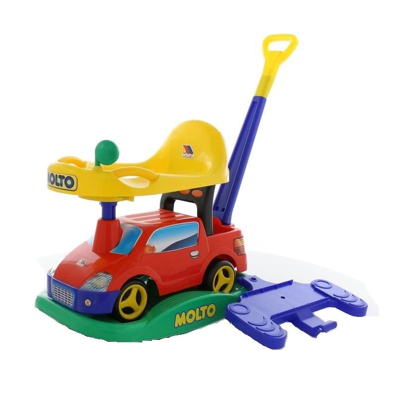 Автомобиль-каталка Paremo Пикап, многофункциональный, цвет: красный