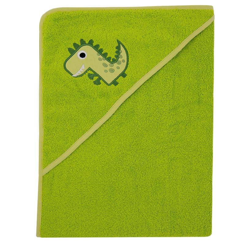 Полотенце с капюшоном ImseVimse, зеленый, 100x100 см imsevimse полотенце с капюшоном cова