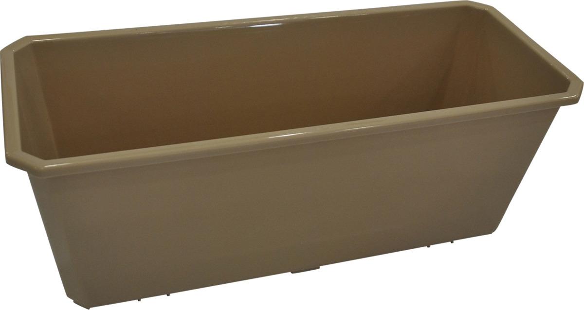 Ящик балконный InGreen, шоколадный, 40 см