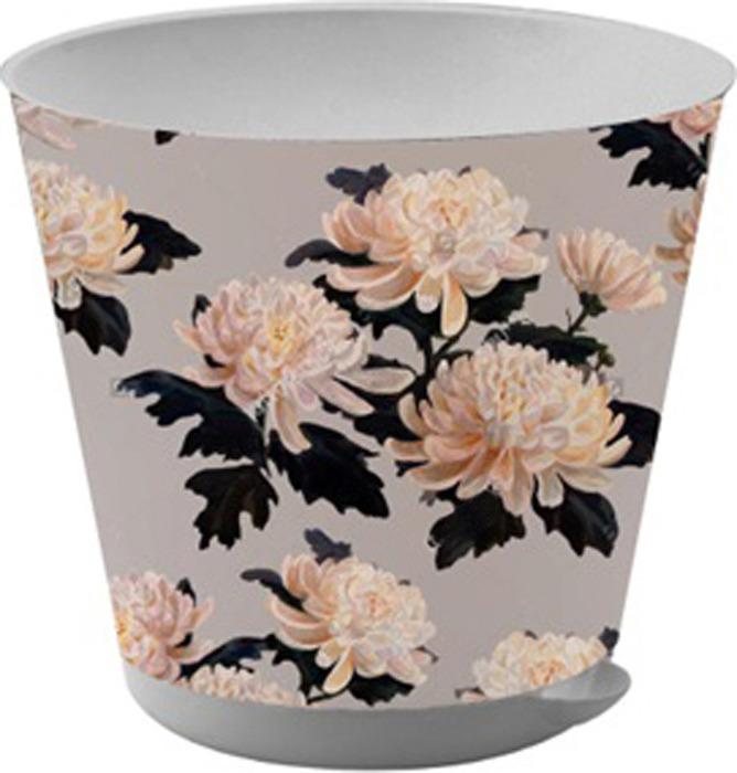 горшки Горшок для цветов InGreen Крит. Хризантемы, с системой прикорневого полива, 0,7 л