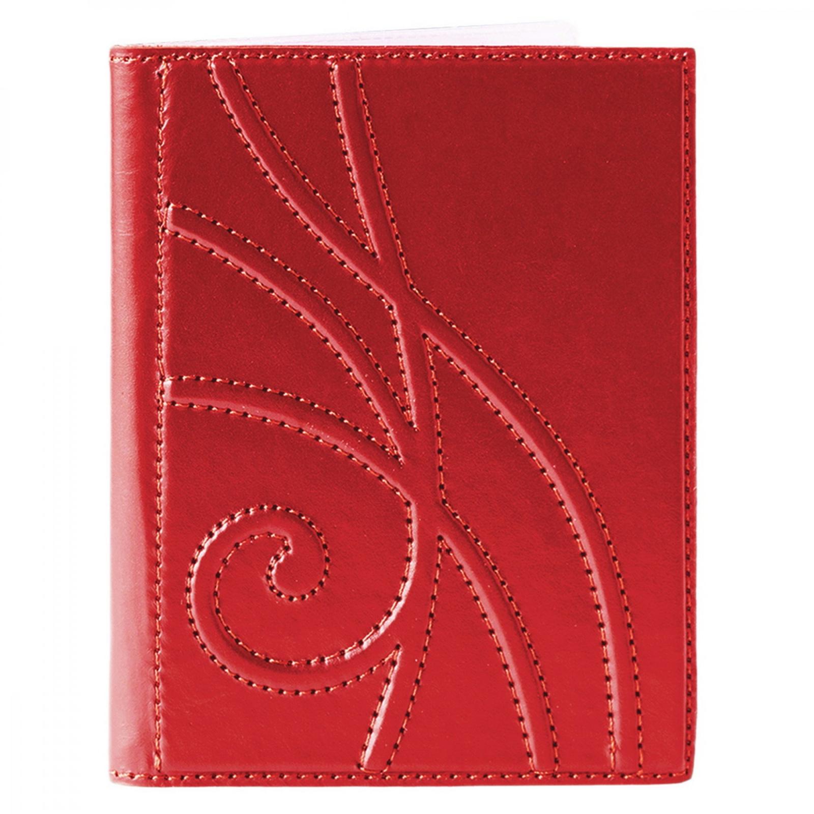 Обложка для водительского удостоверения женская Makey, 424-003-08-42, красный