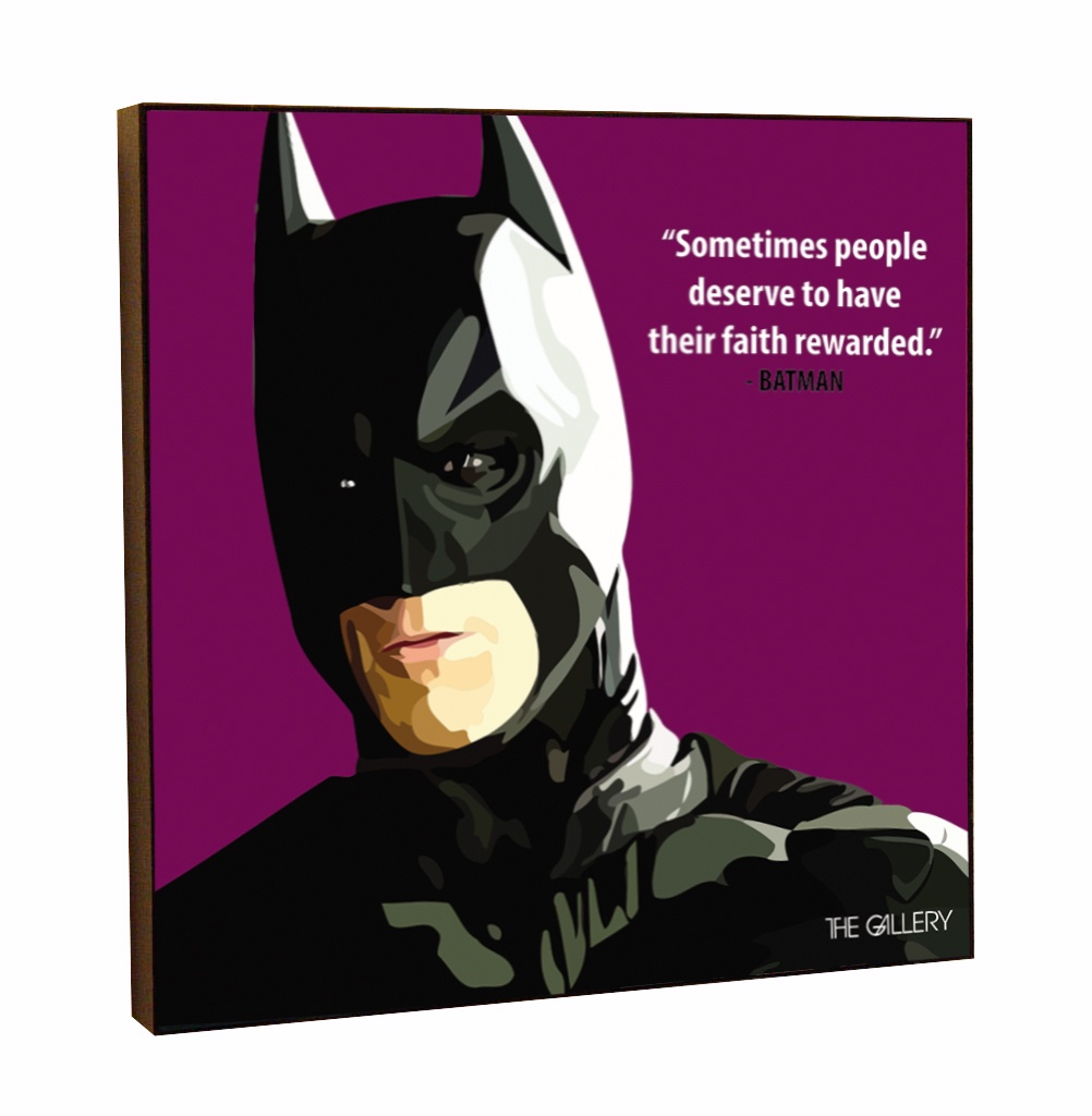 """Постер The Gallery """"Бэтмен"""", 25 х 25 см"""