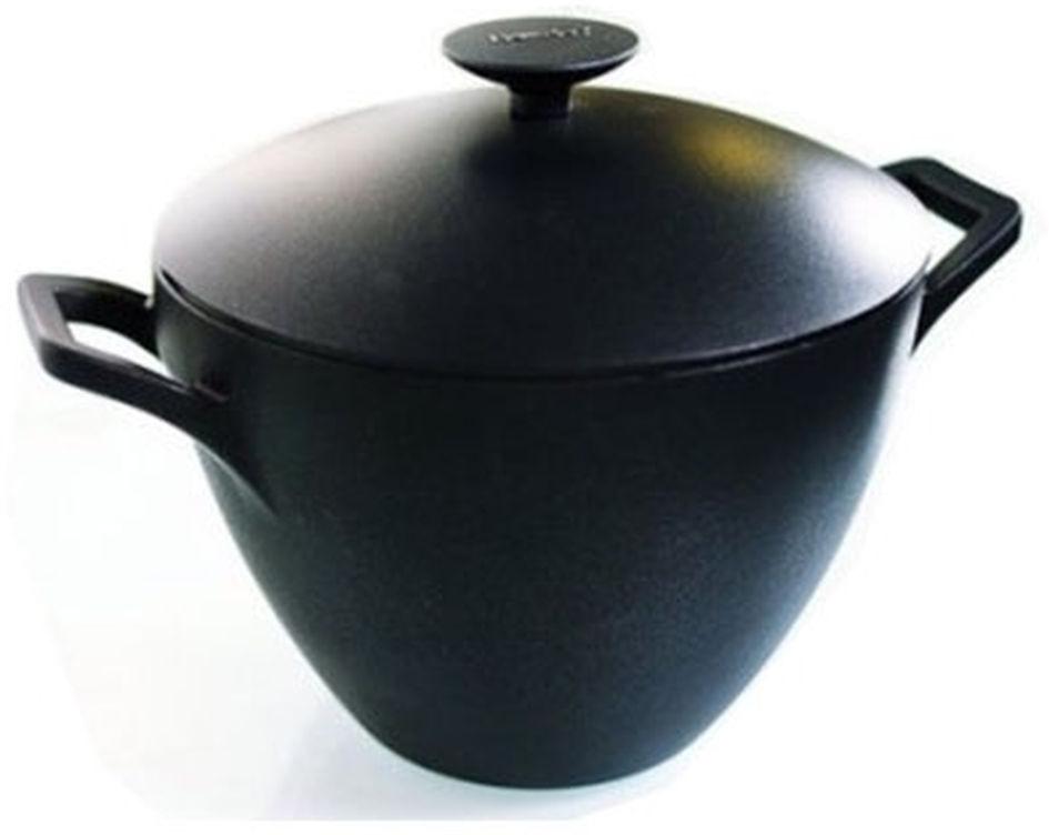 Кастрюля Berndes Specials, с крышкой, цвет: черный, 5,5 л