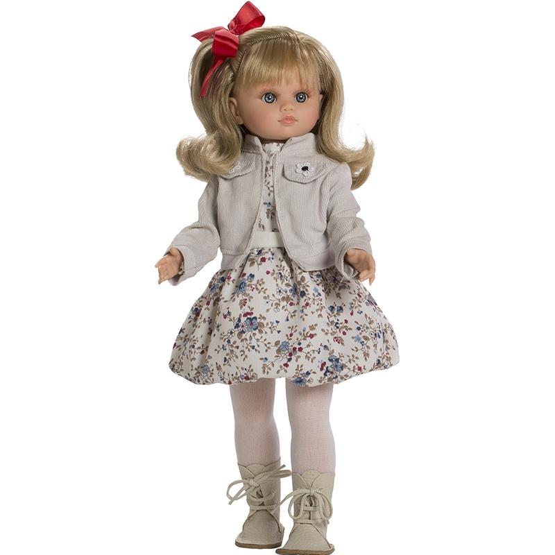 Кукла Munecas Berbesa FANY кукла berbesa виниловая 42см пупс новорожденный 5110