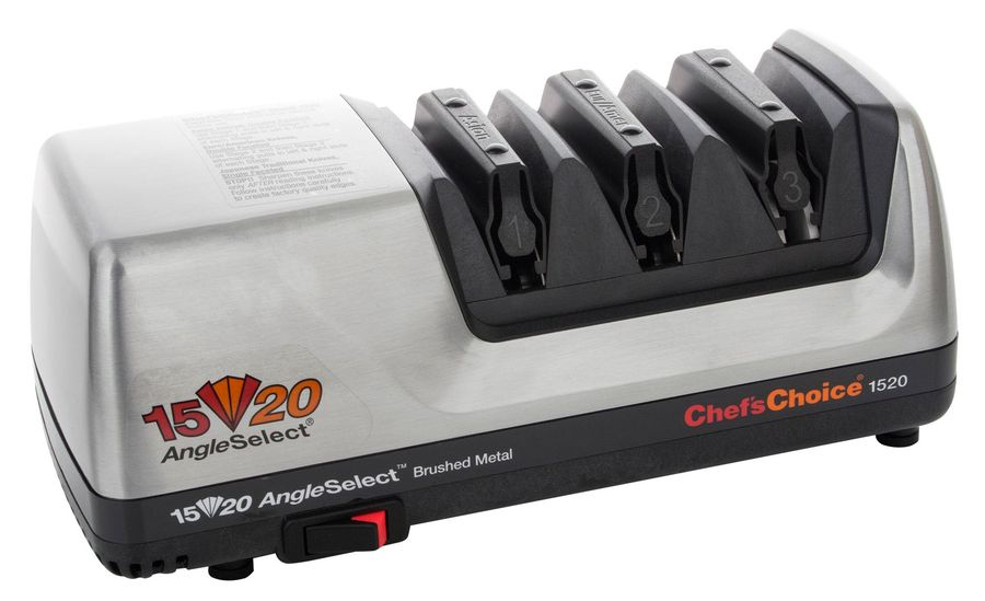 Точилка электрическая для заточки ножей, металл, CC1520M, Chefs Choice, США дверь в душевой проем vegas eolo 2p 75 профиль глянцевый хром стекло сатин