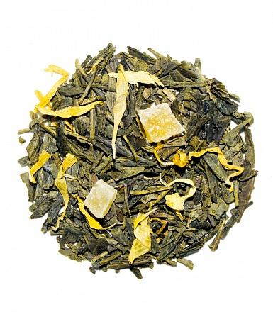 Фото - Чай листовой VKUS tea master с манго, натуральный, зеленый чай листовой vkus tea master натуральный белый со смородиной