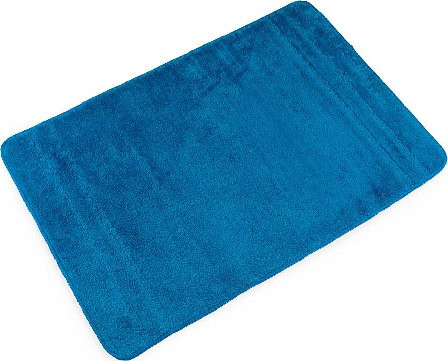 Коврик для ванной Verran Solo, цвет: синий, 60 х 90 см