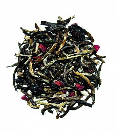 Фото - Чай листовой VKUS tea master, натуральный, белый со смородиной чай листовой vkus tea master натуральный белый со смородиной