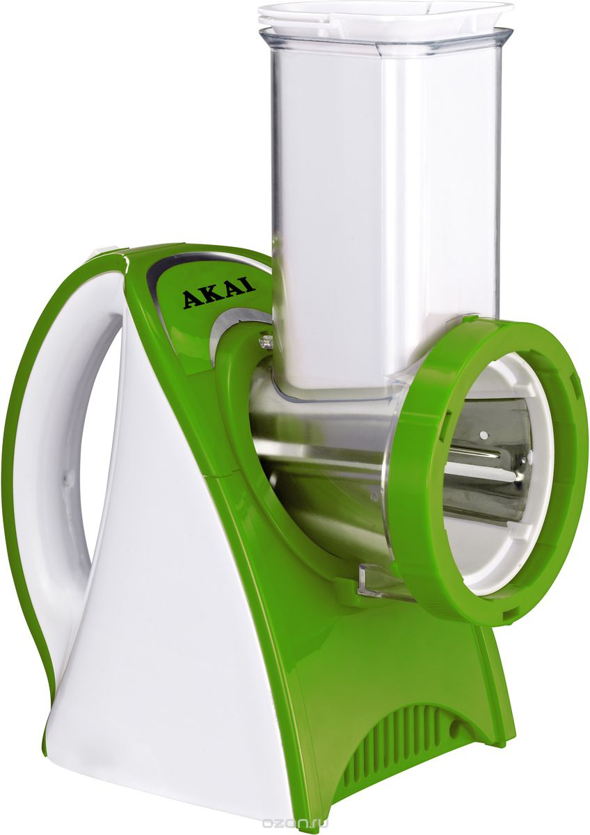 Мультирезка электрическая Akai GS-1511, цвет: белый, зеленый