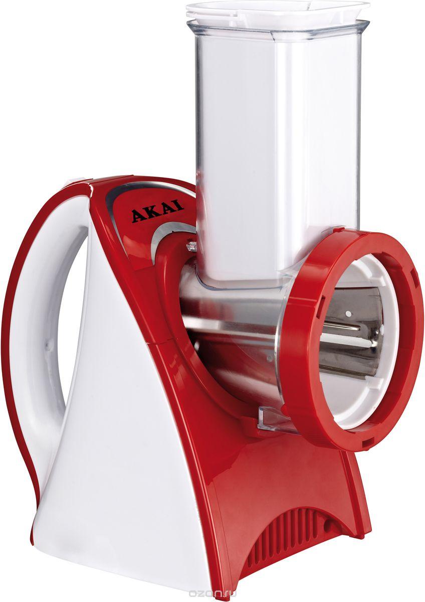Мультирезка электрическая Akai GS-1512, цвет: красный, белый