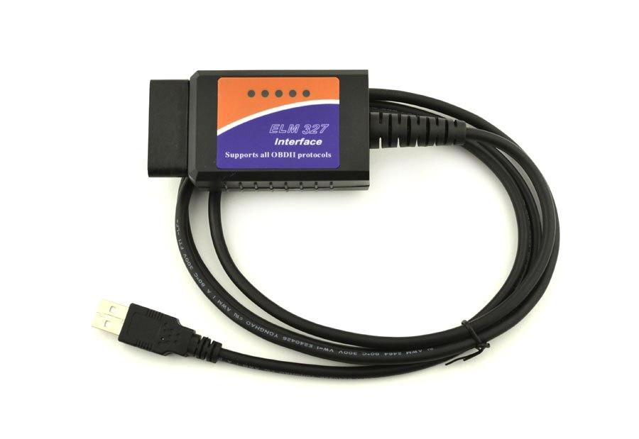 Тестер автомобильный Quantoom ELM327 USB OBDII адаптер ver. 1.5