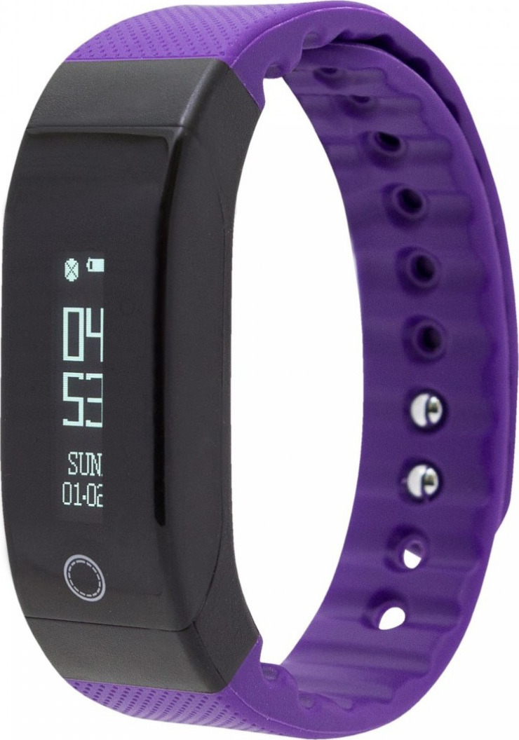 Фитнес-браслет SMA Coach, фиолетовый фитнес браслет sma b2 черный