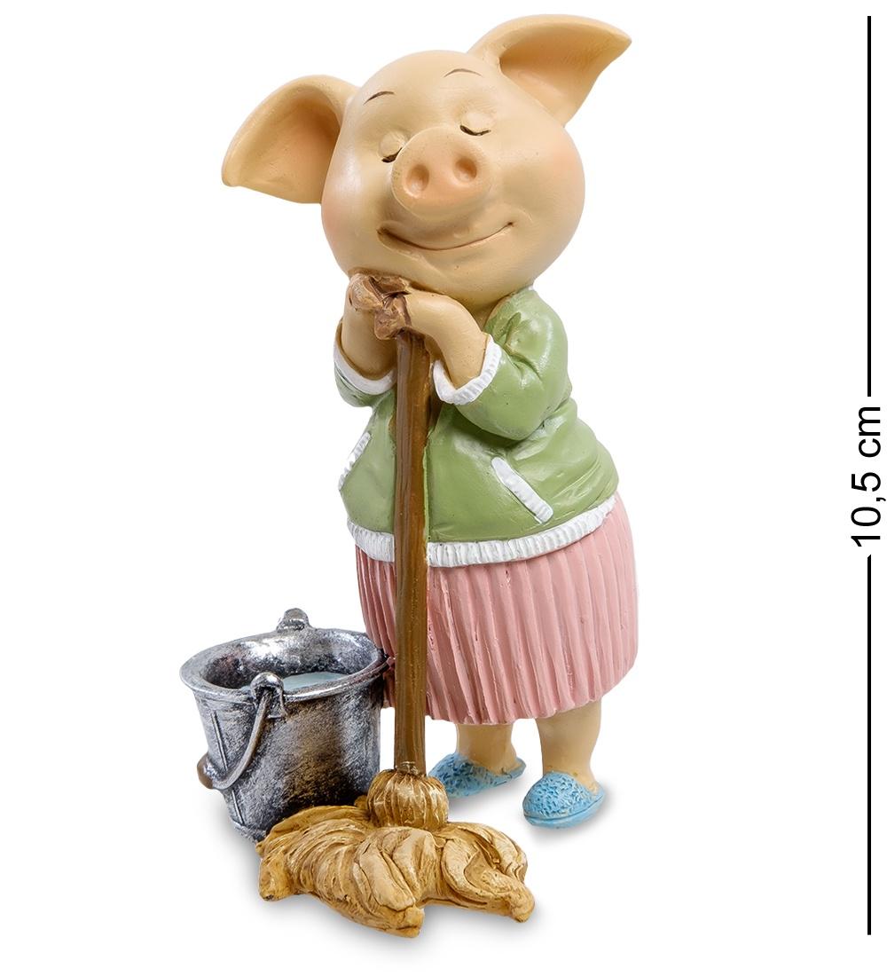 Фигурка Art East Свинья - ''Хорошая хозяйка'' футболка хорошая подруга в 3 раза лучше чем 3 друга