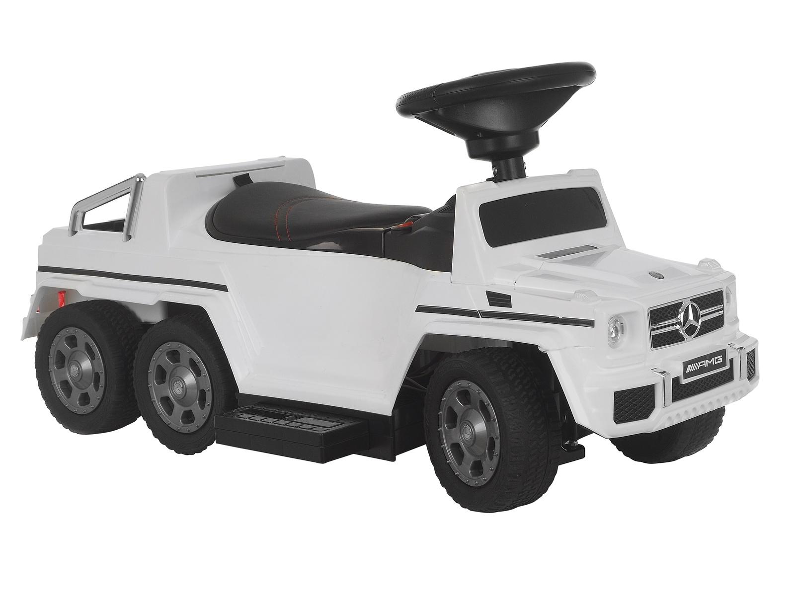 Каталка KinderDeti Mercedes-Benz G63 AMG 6x6, RXL1838-E1, белый