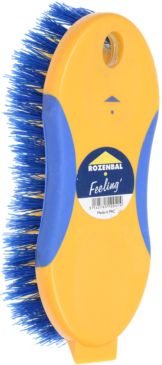 набор расческа и щетка babyono с жесткой щетиной гребешок 224 голубой Щетка Rozenbal, с жесткой щетиной. R510041