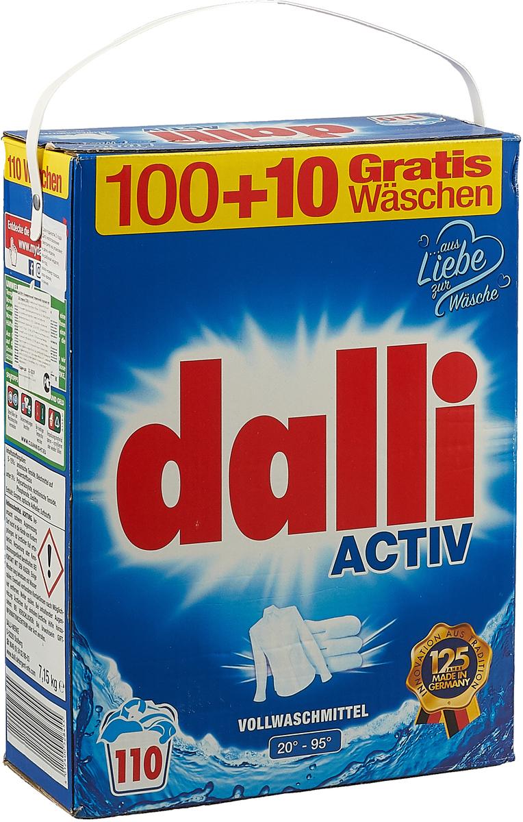 детские моющие средства meine liebe стиральный порошок универсальный концентрат 1000 г Стиральный порошок Dalli, универсальный, 100 стирок, суперконцентрат, 527960, 6,5 кг + 10 стирок в подарок