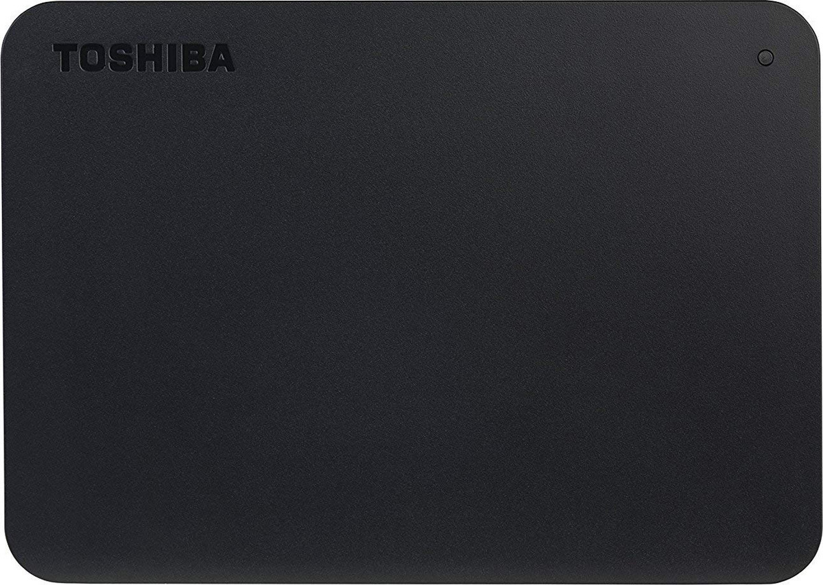 Внешний жесткий диск Toshiba Canvio Basics 500GB, Black (HDTB405EK3AA)