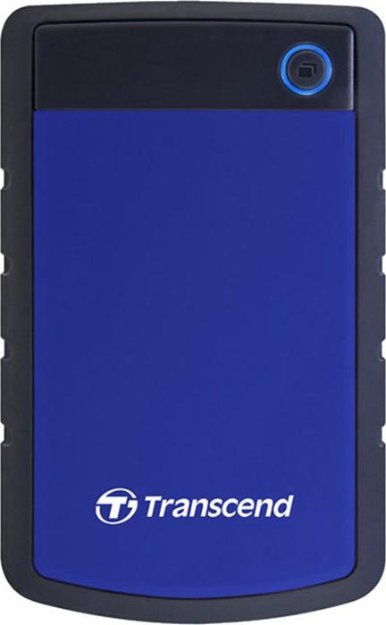 Фото - Transcend StoreJet 25H3 1TB, Blue внешний жесткий диск (TS1TSJ25H3B) transcend storejet 25h3 blue 1tb 2 5 синий