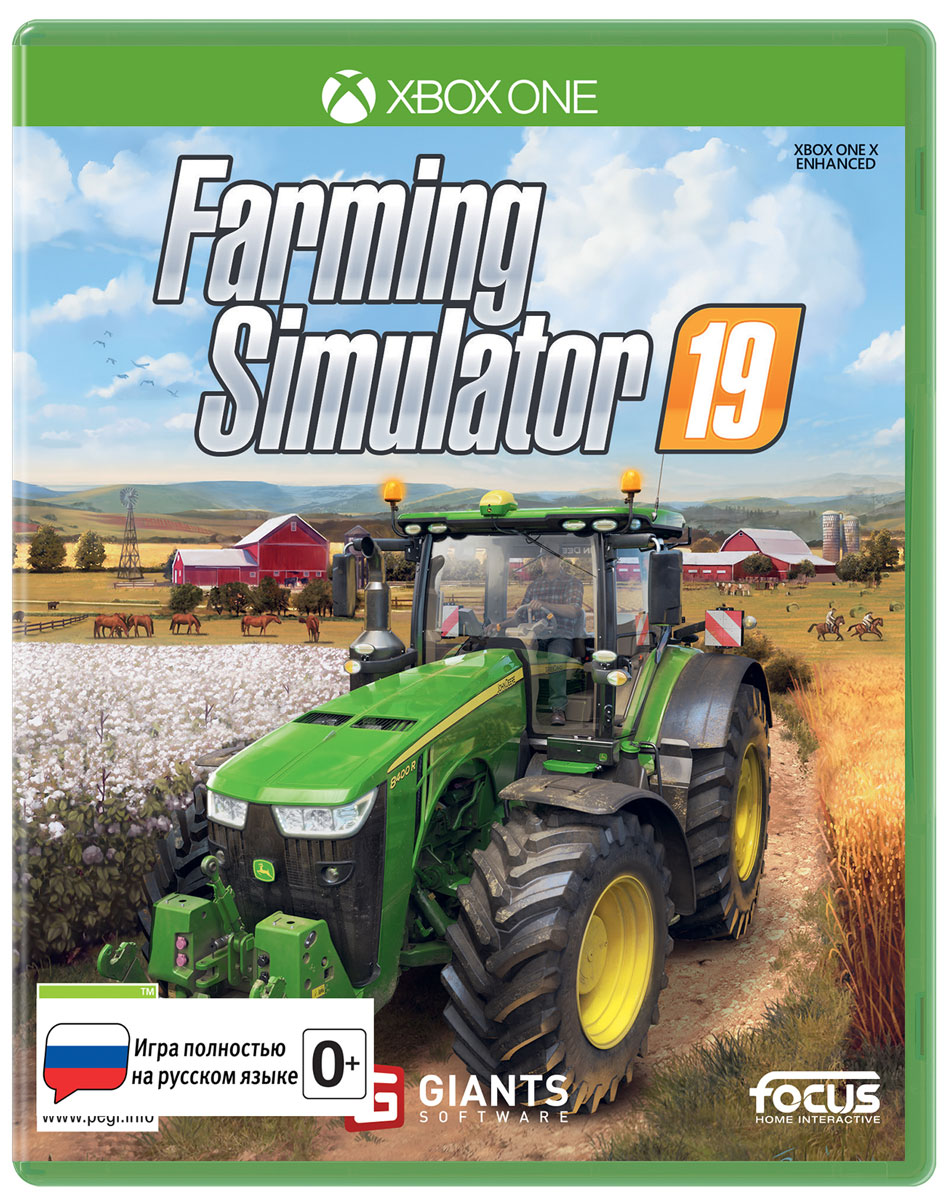 Farming Simulator 19 (Xbox One) электронная версия для xbox microsoft farming simulator 17 platinum edition