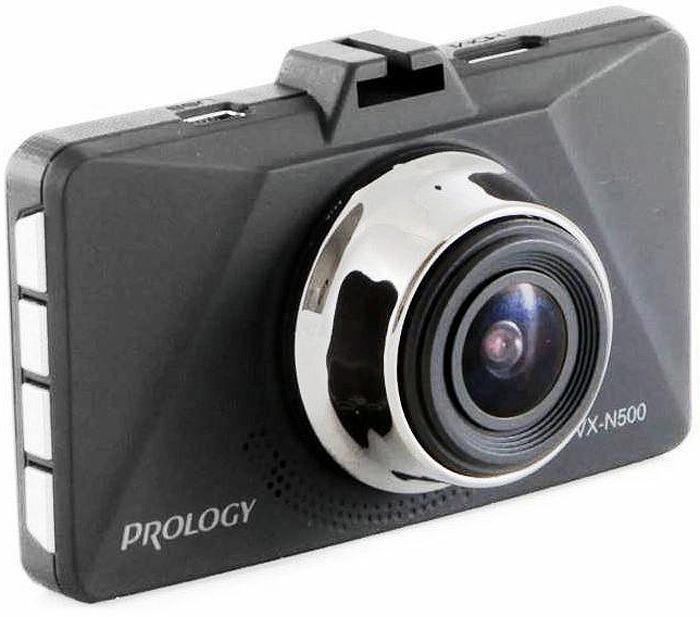 Видеорегистратор Prology VX-N500, цвет: черный 2pcs yaesu fnb 80li lithium ion battery for yaesu vx7r vx 5 vx 5r vx 5r vx 6r vx 6e vx 7r vxa 700 vxa 7 radio 1500mah