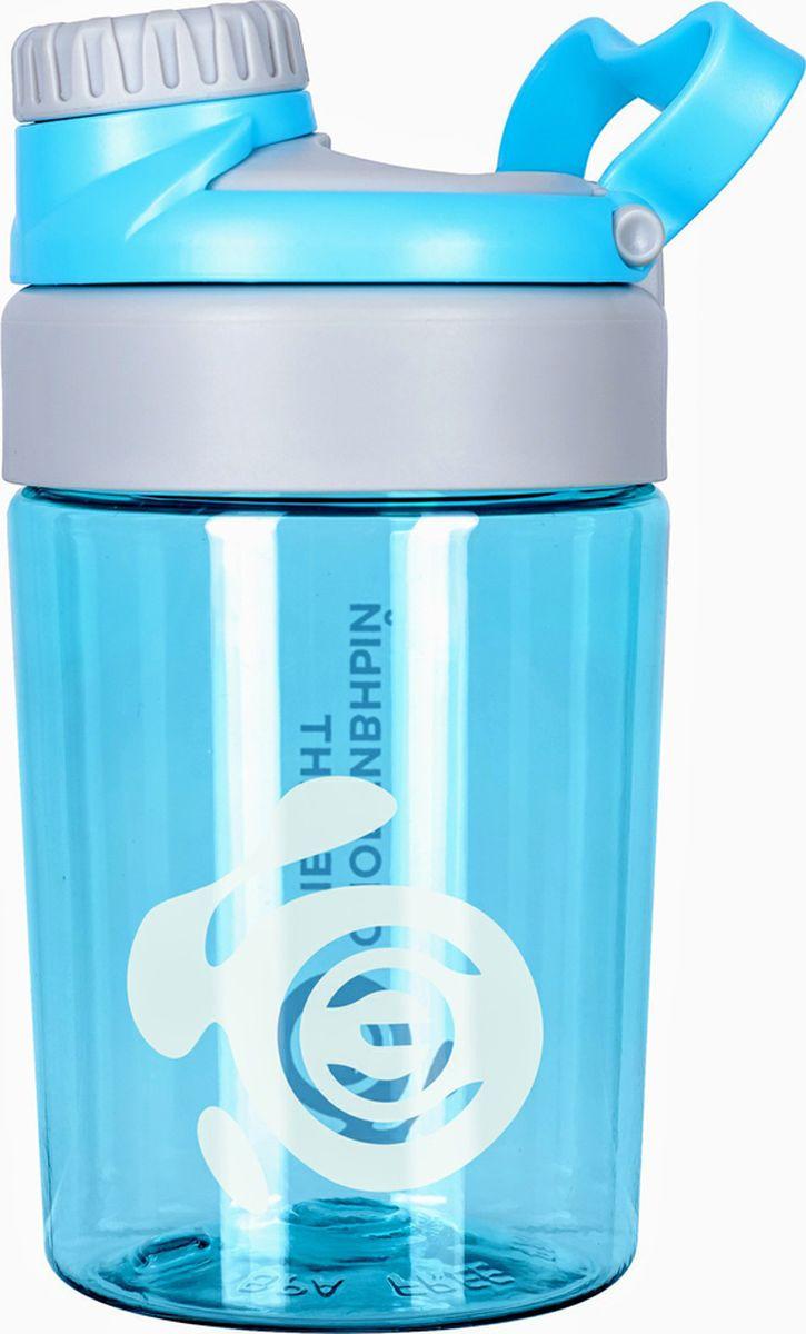 Бутылка для воды Спортивный Элемент Опал, цвет: голубой, 400 мл бутылка для воды my bottle в чехле цвет голубой 500 мл