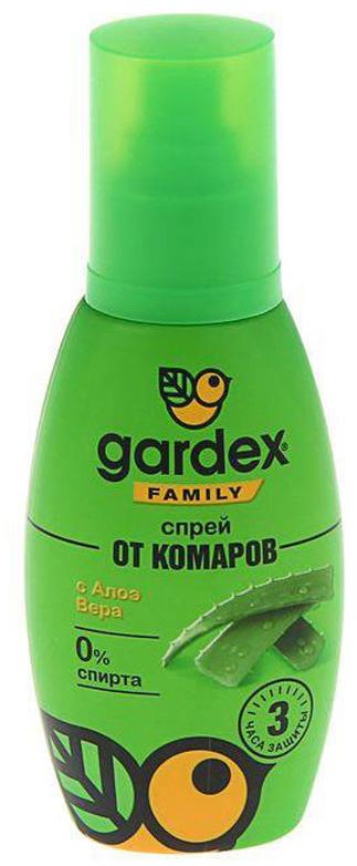 Спрей от комаров Gardex Family, 100 мл спрей от комаров noguest 100 мл