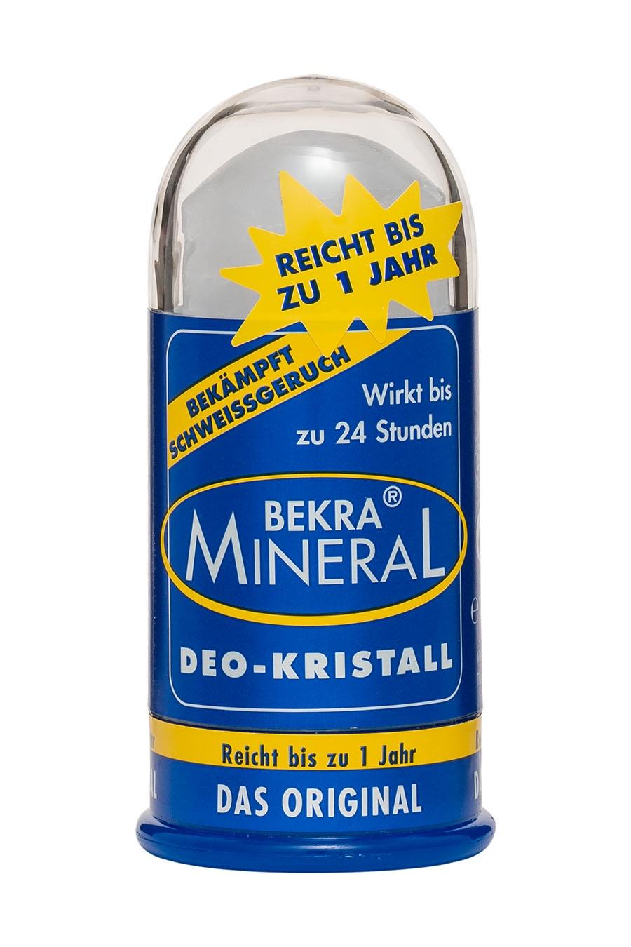 Дезодорант Bekra Mineral Натуральный цельный кристалл Bekra Mineral, 100 дезодорант спрей для ног bekra mineral fuss geruch stop минеральный 150 мл