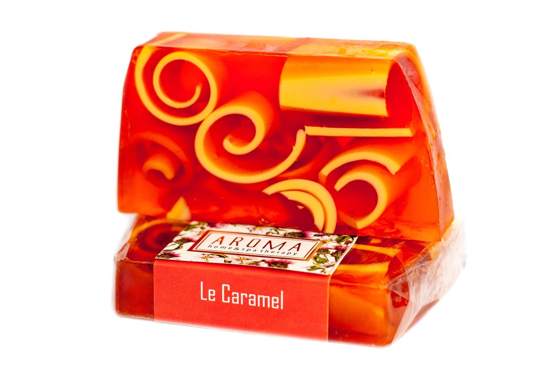 Мыло ручной работы ORGANIC THERAPY Ля Карамель, 100 г мыло ручной работы le blanc красные ягоды в жестяной коробочке 100 г франция